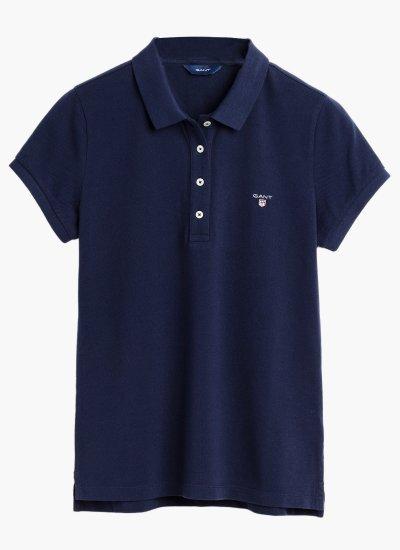 Women T-Shirts - Tops Original.Pique Cotton GANT