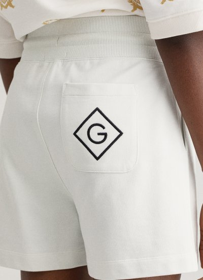 Women Skirts - Shorts PP.Sweet White Cotton GANT
