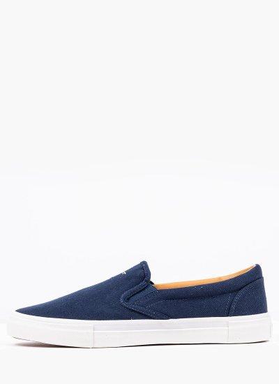 Men Casual Shoes Sundale DarkBlue Fabric GANT