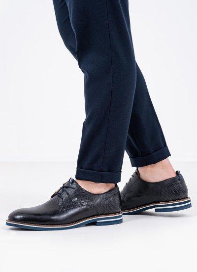 Men Shoes 13206 Black Leather S.Oliver