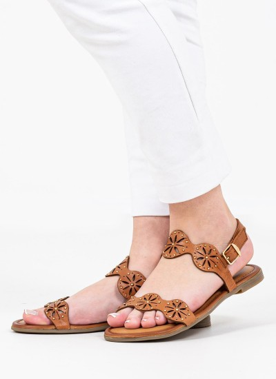 Women Flat Sandals 28111 Tabba Leather S.Oliver