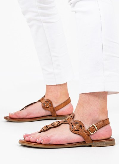 Women Flat Sandals 28112 Tabba Leather S.Oliver