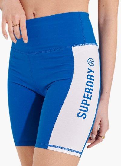 Women Skirts - Shorts Active.Lifestyle Blue Cotton Superdry