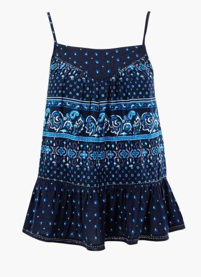 Women T-Shirts - Tops Ameera Blue Superdry