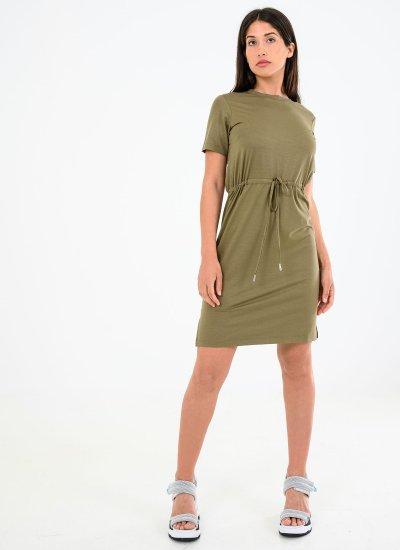 Drawstring.Dress Olive Superdry