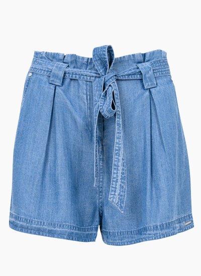 Women Skirts - Shorts Paper.Bag Blue Superdry