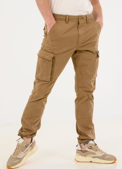 Men Pants Recruit.Grip2 Olive Cotton Superdry