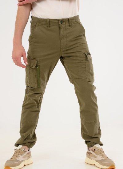 Men Pants Recruit.Grip2 Green Cotton Superdry