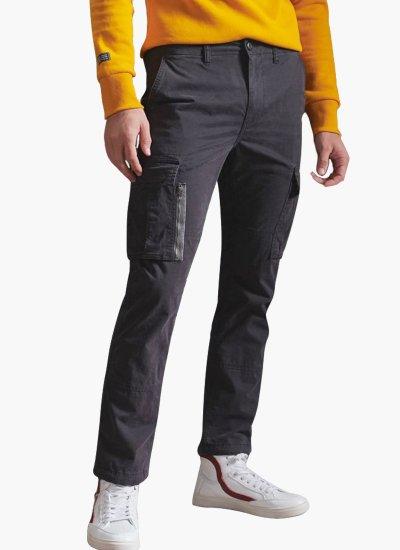 Men Pants Recruit.Grip Black Cotton Superdry