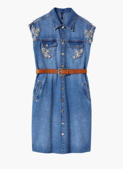 Denim.dress Blue Cotton LIU JO