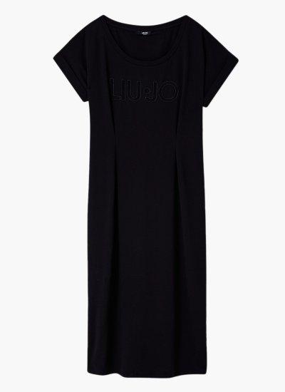 Midi.dress Black Cotton LIU JO