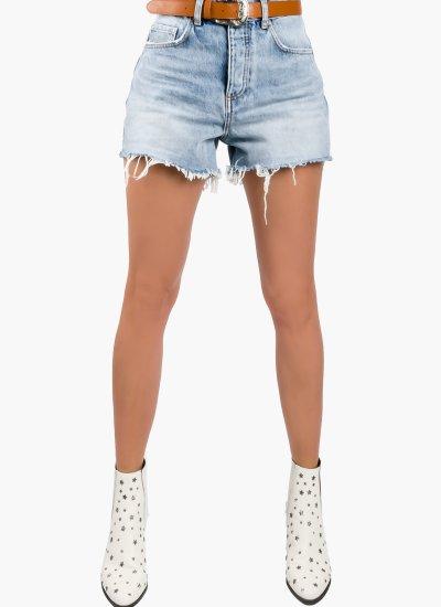 Women Skirts - Shorts UA1126 LightBlue Cotton LIU JO