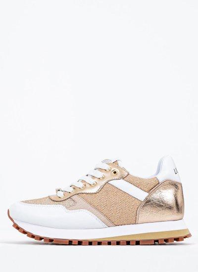 Women Casual Shoes Wonder.1.W White Leather LIU JO