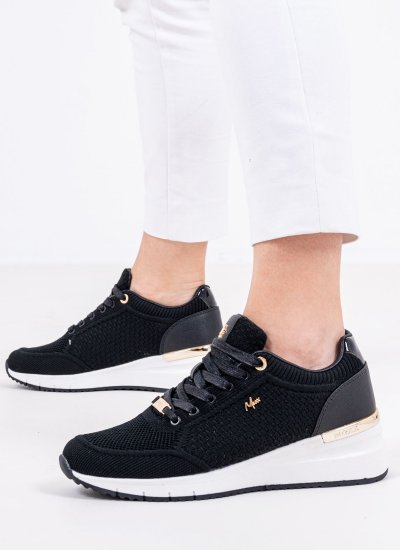 Women Casual Shoes Glass Black Mexx