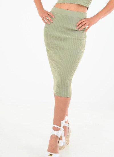 Women Skirts - Shorts Ada.Skirt Green Guess