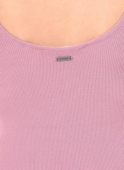 Agatha Pink Polyester Guess