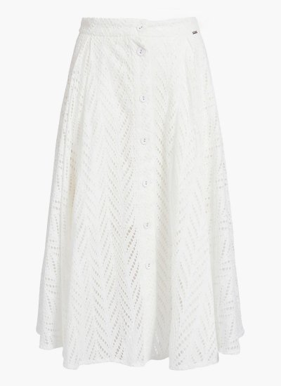 Women Skirts - Shorts Najm White Cotton Guess