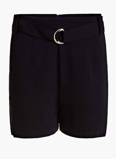 Women Skirts - Shorts Suzy Black Polyester Guess