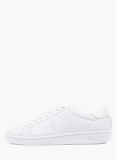 Women Casual Shoes Crosscourt.2 White Eco-Leather Fila