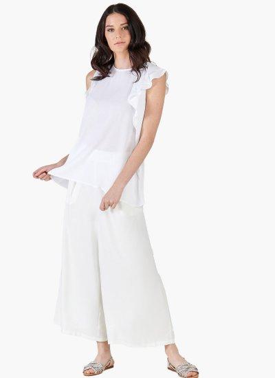Women T-Shirts - Tops Awater White Silvian Heach