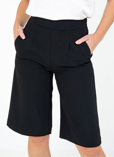 Women Skirts - Shorts Beville Black Polyester Silvian Heach