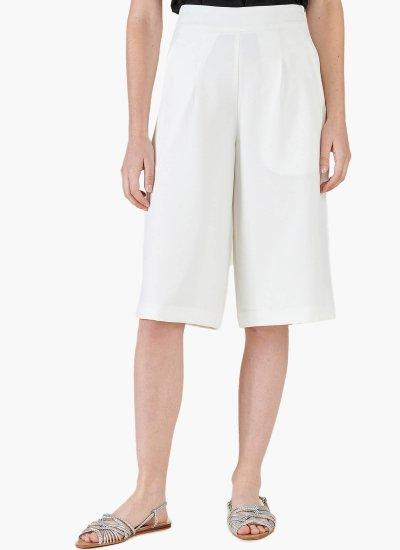 Women Skirts - Shorts Beville White Polyester Silvian Heach