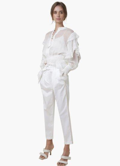 Elmaira White Polyester Silvian Heach
