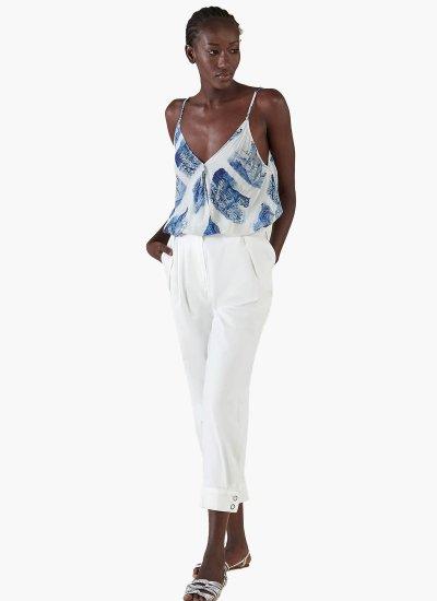 Women T-Shirts - Tops Hossass White Silvian Heach