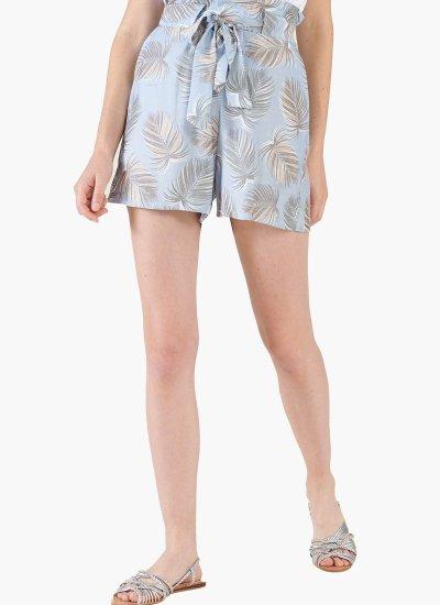 Women Skirts - Shorts Kenly LightBlue Polyester Silvian Heach