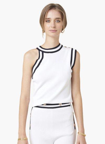 Women T-Shirts - Tops Mafalda White Silvian Heach