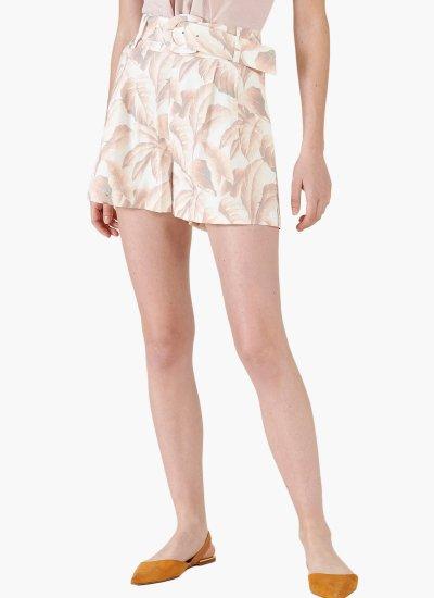 Women Skirts - Shorts Mantova Beige Silvian Heach