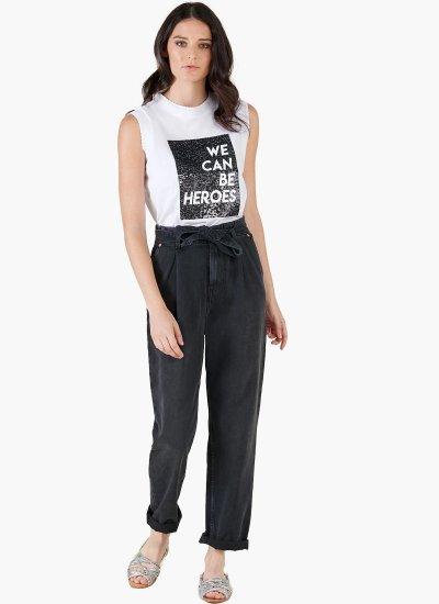 Women T-Shirts - Tops Marietta White Cotton Silvian Heach