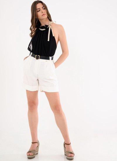 Women Skirts - Shorts Pensipa White Silvian Heach