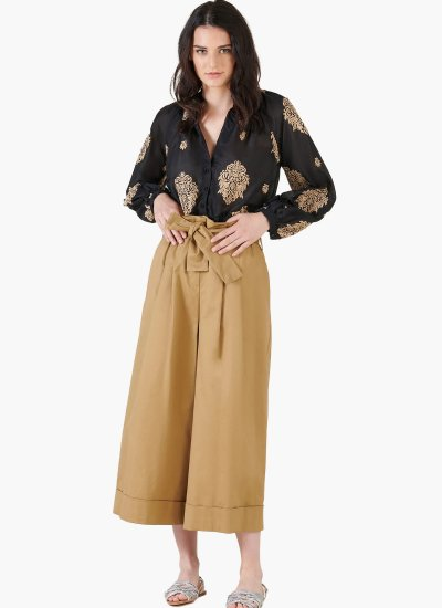 Women T-Shirts - Tops Prodelsi Black Cotton Silvian Heach