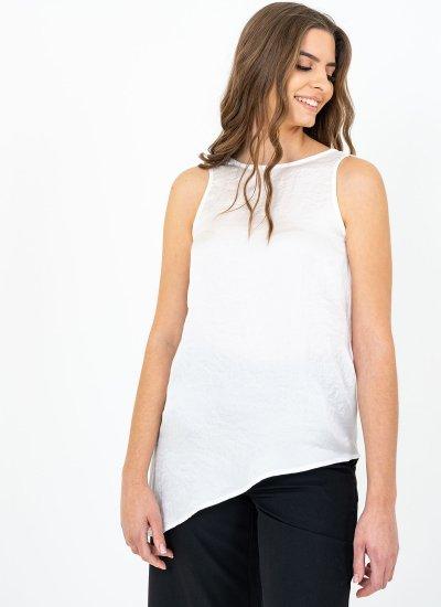 Women T-Shirts - Tops Salisbury.Top White Polyester Silvian Heach