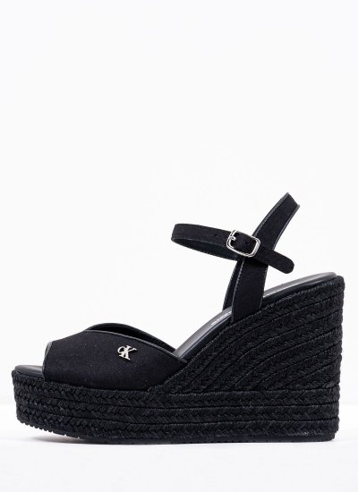 Women Platforms High Ankle.Wedge Black Calvin Klein