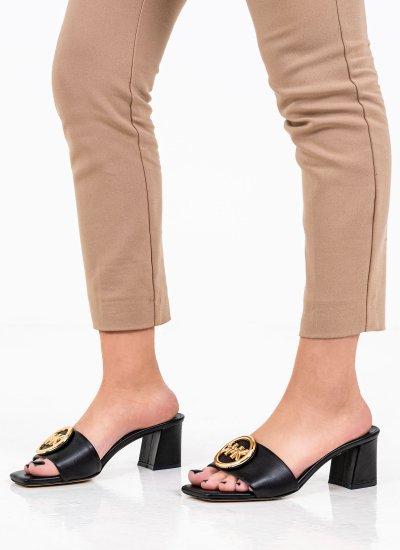 Women Mules Baya Black Eco-Leather Kendall+Kylie