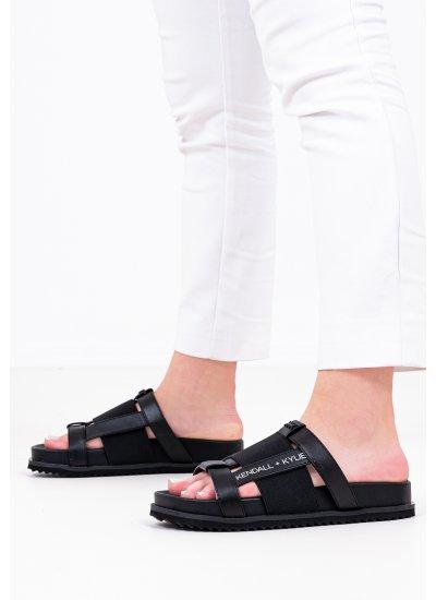 Women Flip Flops & Sandals Luxia Black Kendall+Kylie
