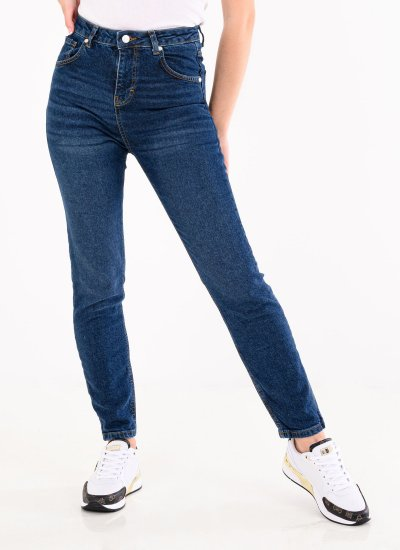 Mom.Normal Blue Cotton Kendall+Kylie