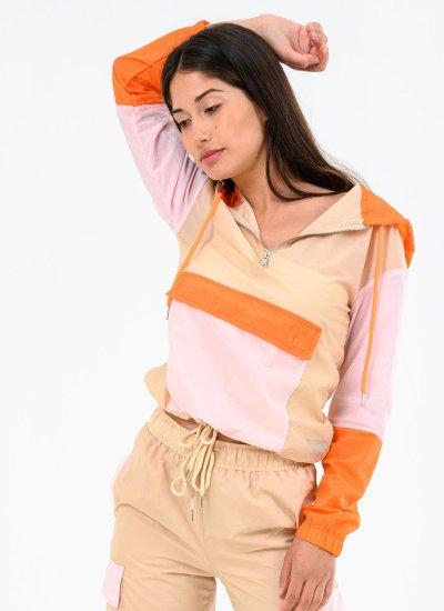 Women Coats - Jackets Parachute.Ja Beige Polyester Kendall+Kylie