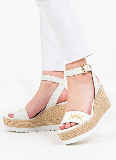 Women Platforms High Prismatic White Kendall+Kylie