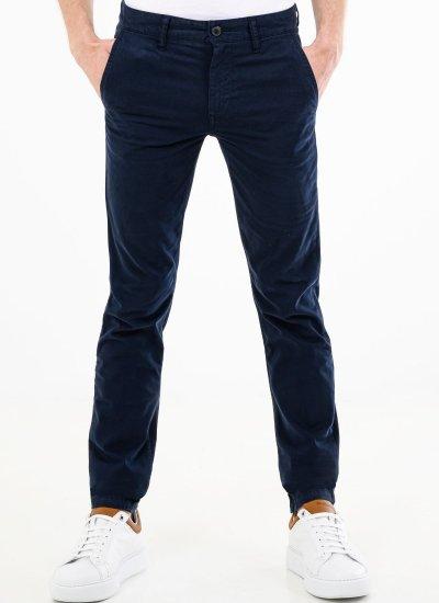 Men Pants Schino.Taber Blue Cotton Boss