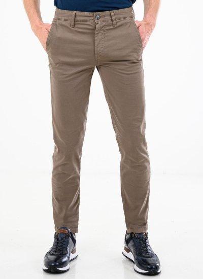 Men Pants Schino.Taber Olive Cotton Boss