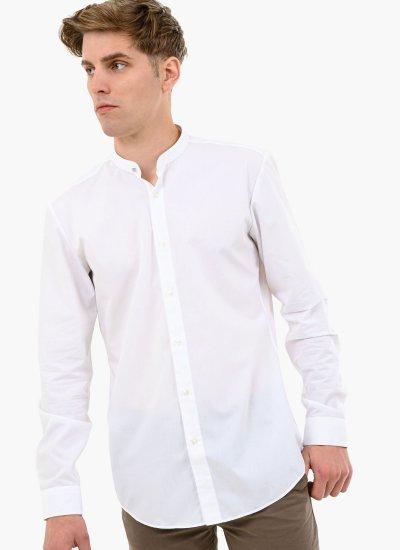 Kaleb White Cotton Hugo